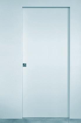 Kit profile velo trasformaz filo parete porta scorrevole ...