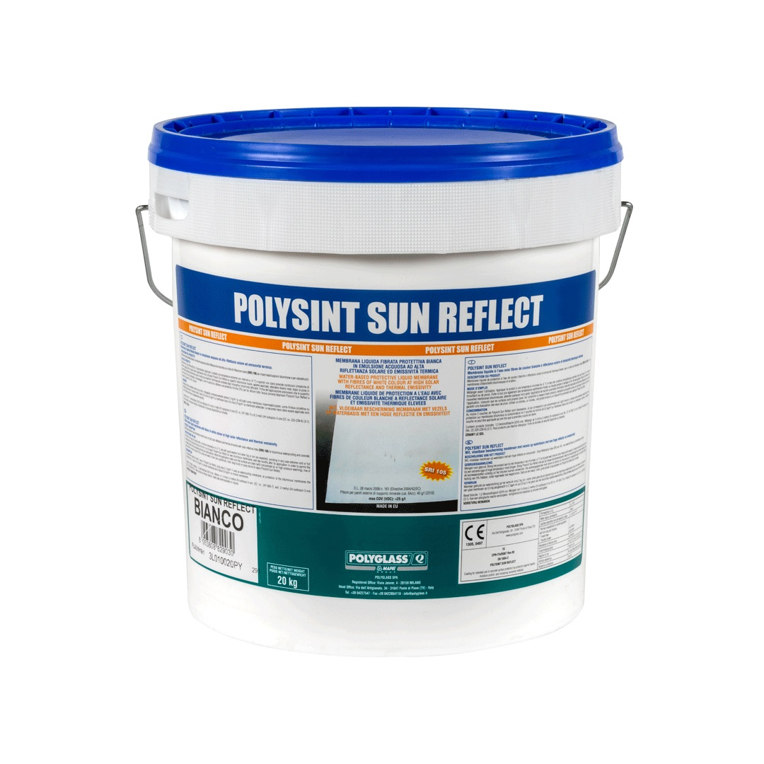 PITTURA ACRILICA BIANCA SUN REFLECT 20KG