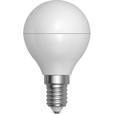 LAMPADINA LIGHT LED E14 GLOBO 6W 6400K       G45PA-1406F