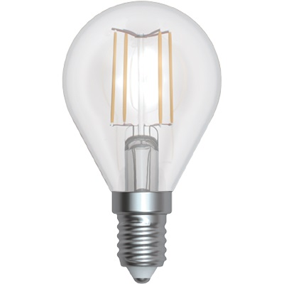 LAMPADINA LIGHT LED*FILAM*E14 GLOBO 4W 3000K LL-HBF1404C