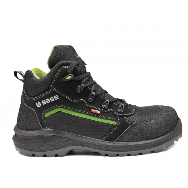 SCARPA BASE ALTA BE-POWERFUL TOP S3 WR SRC   BK NERVERDFLUO