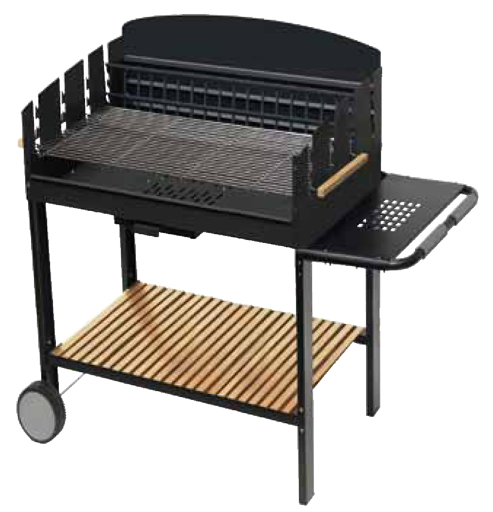 BARBECUE CARBONELLA APOLLO  60 GRIGLIA 55X39