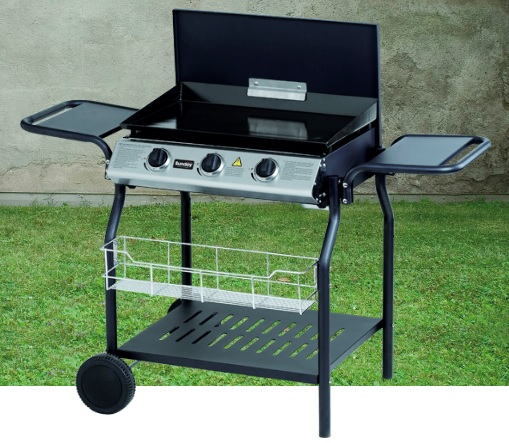 BARBECUE GAS NEVADA PIASTRA 62X40