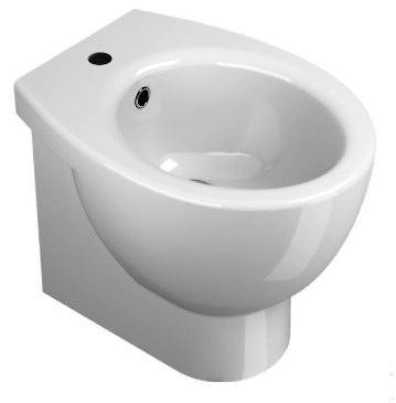 BIDET CITY NEW CM.50 BIANCO MONOFORO 9362
