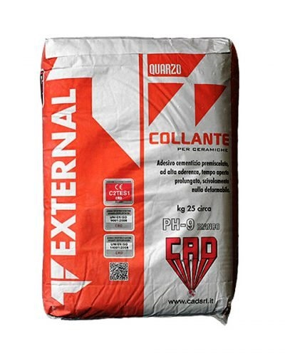 **S****COLLANTE CAD FLEX PH9 GRIGIO 25KG