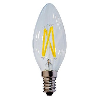 LAMPADINA OPTONICA LED*FILAM*E14 OLIVA 4W    2700K CD.1472