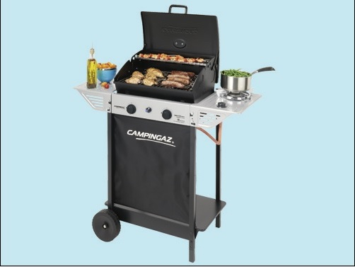 BARBECUE GAS EPERT 100LS + FORNELLO LATERALE ED 1 PIANO LATERALE