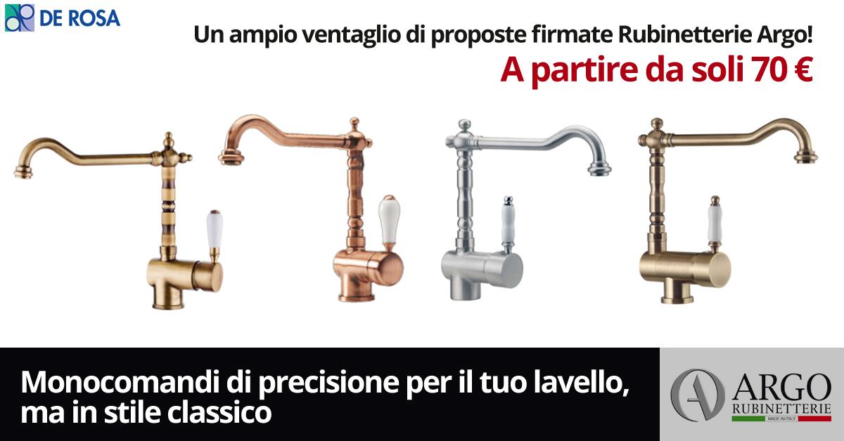 Rubinetterie Ed Accessori Napoli.Rubinetterie Argo Anche Per Una Cucina Classica De Rosa Edilizia A